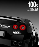 GTR vectored by ronaldesign