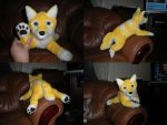 Latchme plush - commission by Tedimo