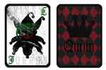Joker and Harley cards by RissyHorrorx
