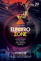 Electro Zone Flyer by styleWish