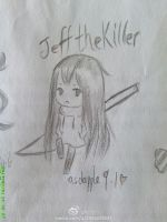 Chibi Jeff the killer by AsdAppuru