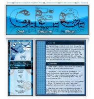 Myspace layout-CEO Geared by ThaIllusionist