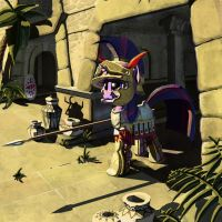 Twilight Sparkle: Sacred Band of Carthage by LordGood