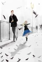 It snowed in March! by PascalCampion