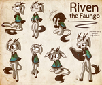 Riven the Faungo by MissButlerArt