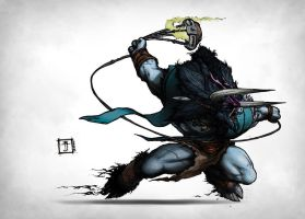 DOTA - Barathrum the Spirit Breaker by Geoffrey-E