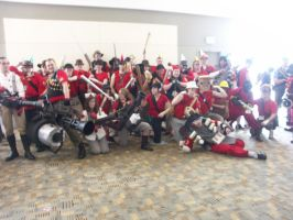 Otakon 2011: Day 1:Red Group 2 by lunanotikdeo