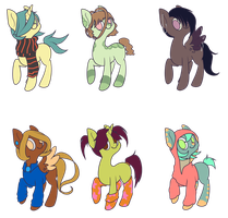 Pony Adoptables by yumehari