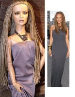 Tyra Banks OOAK Doll Repaint by ShannonCraven