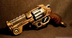 Steampunk Lanard X8 Bronze by JohnsonArms