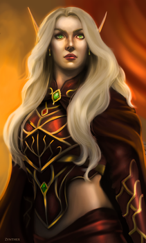 WoW: Blood elf by Zynthex