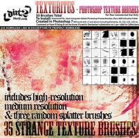 Texturitus Photoshop Brushes by freetext