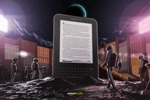Moon Kindle Ad by biz02