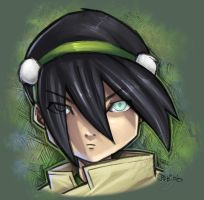 :: Toph colored :: by IvyBeth
