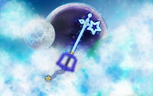 Starlight Keyblade KH Unchained by silverbeam