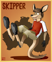 Tail Stand by Floyd-Kangaroo
