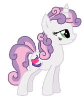 Older Sweetie Belle by StarryOak