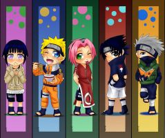 Naruto bookmarks by Momiji95