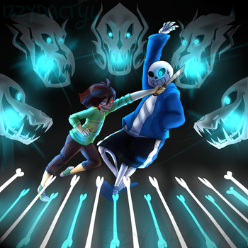 MEGALOVANIA INTENSIFIES by Izzydactyl