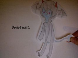 Do not want. by AskTheRabbitPrince