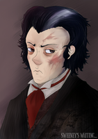 It's Todd now. Sweeney Todd. by Sophalone