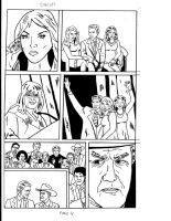 Dallas Page 4 (Inked) by RoyPrince