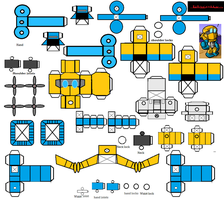 Lil Seaspray Papercraft by Lilscotty