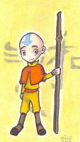 Avatar Chibies- Aang by who-stole-MY-name