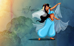 dancin' Jasmine - wallpaper by selinmarsou