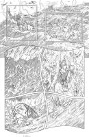 Worlds of Dungeons and Dragons #4, page 7 pencils by JSA