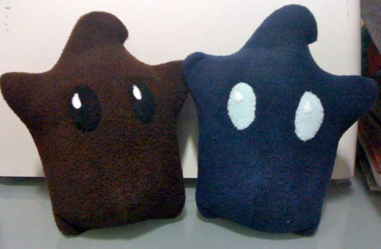 Navy and Brown Lumas by LunarJadeStyles
