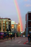London Rainbow Bicycle by wumhauer