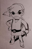 Toon Link by Dragonography