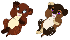 Lion Cub Adoptables by LimeaderAdoptables