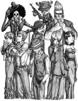 The Luffy Gangsters by Predaguy