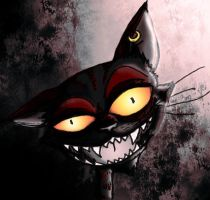 The Cheshire Cat by Shadow-Nexus