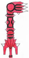 Groudon Keyblade by Amaquieria