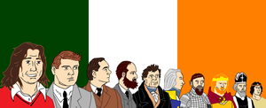 Irish Heroes by CharGrilledAznable