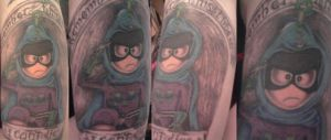 Mysterion Tattoo by sexkitten094