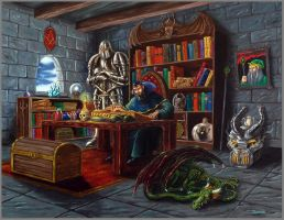 The Wizard's Chamber by Neothera