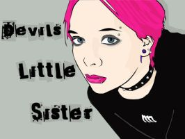 Devil's little sister by raddykins