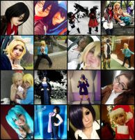 2014 Cosplays and Cons by PWheartgal