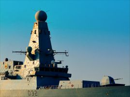 HMS Daring (D32) Guided Missile Destroyer by eongun