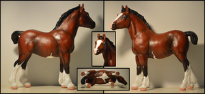 Clydesdale Foal Custom by carlmoon