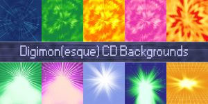 Digimonesque CD Background Ressources by NelaNequin