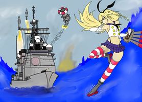 Tico VS Shimakaze by HummerH3