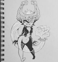 Mischievous Midna by callyanncreates