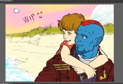 Yondad Color WIP by giulal