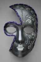 Venetian-Style Mask by kaileecripson