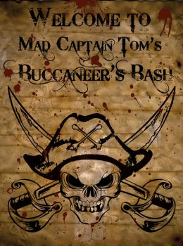 Buccaneer Bash Poster by jPhive